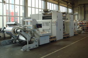 Delivery of 3 spmsteuer WEB finishing machines