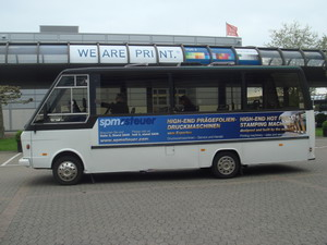 The drupa bus